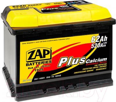 Автомобильный аккумулятор ZAP Plus 562 65 R (62 А/ч)