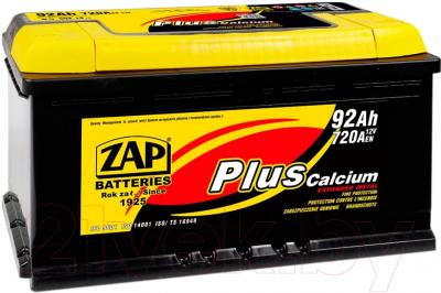 Автомобильный аккумулятор ZAP Plus 592 18 R (92 А/ч)