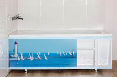 Полка для экрана под ванну ВаннБок 1190169016102 - экран в комплект не входит