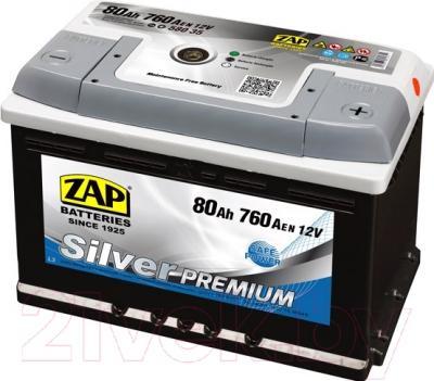 Автомобильный аккумулятор ZAP Silver Premium 580 35 (80 А/ч)