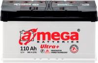 Автомобильный аккумулятор A-mega Ultra Plus 6СТ-110 R (110 А/ч) -