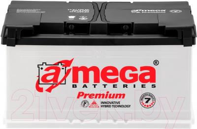 Автомобильный аккумулятор A-mega Premium 6СТ-92-А3 (92 А/ч)