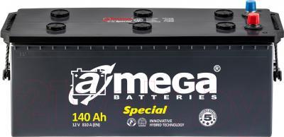 Автомобильный аккумулятор A-mega Special 6СТ-140-A3 (140 А/ч)