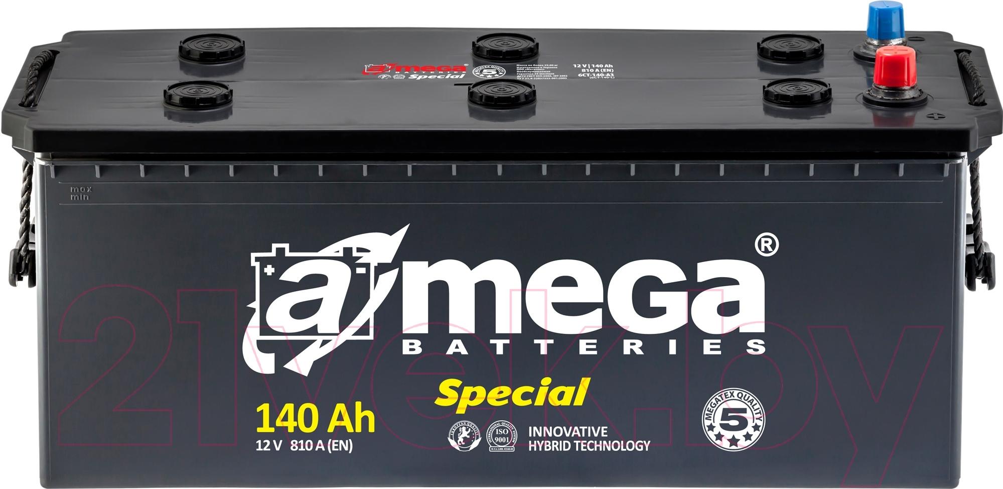 Автомобильный аккумулятор A-mega