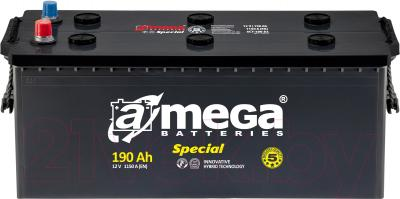 Автомобильный аккумулятор A-mega Special 6СТ-190-A3 (190 А/ч)