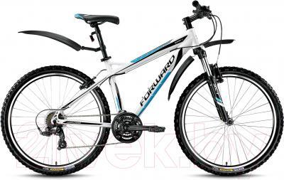 Велосипед Forward Quadro 1.0 2016 (19, белый)