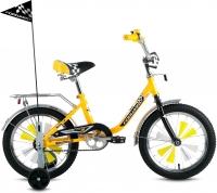 Детский велосипед Forward Racing Boy 2016 (16, желтый) -