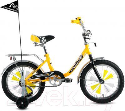 Детский велосипед Forward Racing Boy 2016 (16, желтый)