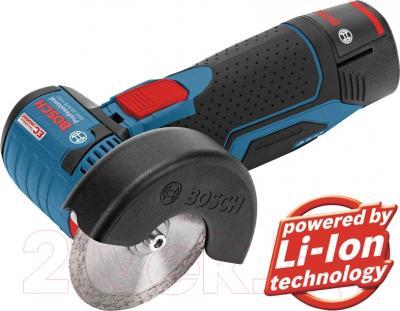 Профессиональная угловая шлифмашина Bosch GWS 10.8-76 V-EC Professional (0.601.9F2.002)