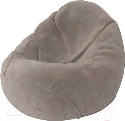 Бескаркасное кресло Meshok.by Велюр Лайт 21 (smart balls, L)