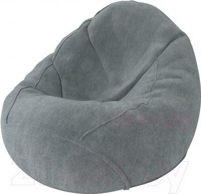 Бескаркасное кресло Meshok.by Велюр Лайт 28 (smart balls, M)