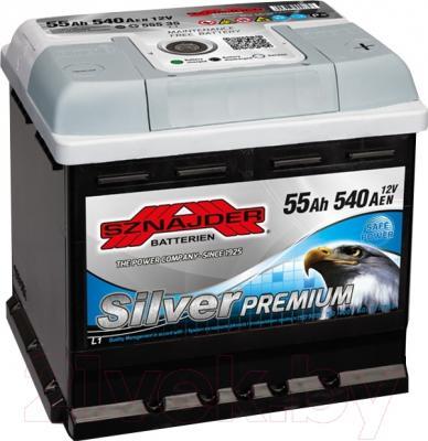 Автомобильный аккумулятор Sznajder Silver Premium 564 45 (55 А/ч)
