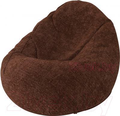 Бескаркасное кресло Meshok.by Велюр Лайт 4 (smart balls, XL)