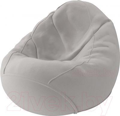 Бескаркасное кресло Meshok.by Велюр Лайт 1 (smart balls, L)