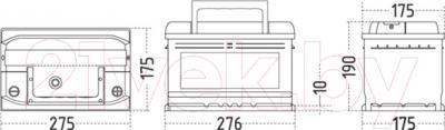 Автомобильный аккумулятор Sznajder Silver Premium 580 35 (80 А/ч)