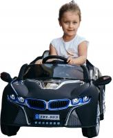 Детский автомобиль Sundays BMW i8 BJ803Р (черный) -