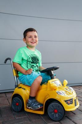 Детский автомобиль Sundays Mercedes Mini BJ21 (желтый)