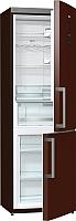 Холодильник с морозильником Gorenje NRK6192MCH -
