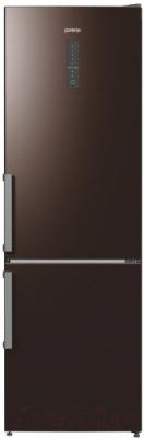 Холодильник с морозильником Gorenje NRK6192MCH