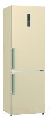 Холодильник с морозильником Gorenje NRK6192MC