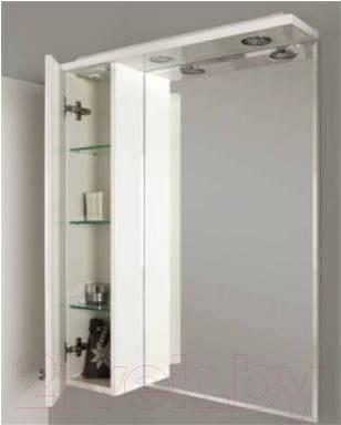 Шкаф с зеркалом для ванной Акватон Лиана 65 (1A166202LL01L)
