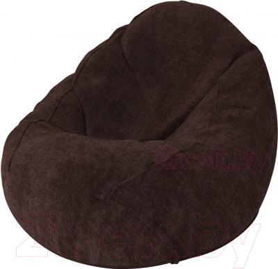 Бескаркасное кресло Meshok.by Велюр Лайт 10 (smart balls, M)