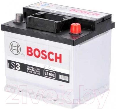 Автомобильный аккумулятор Bosch S3 45 R (45 А/ч)