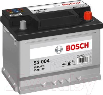 Автомобильный аккумулятор Bosch S3 004 553 401 050 (53 А/ч)