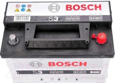 Автомобильный аккумулятор Bosch S3 007 570 144 064 (70 А/ч)