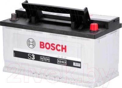 Автомобильный аккумулятор Bosch S3 90 R / 0092S30130 (90 А/ч)