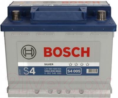 Автомобильный аккумулятор Bosch S4 005 560 408 054 / 0092S40050 (60 А/ч)