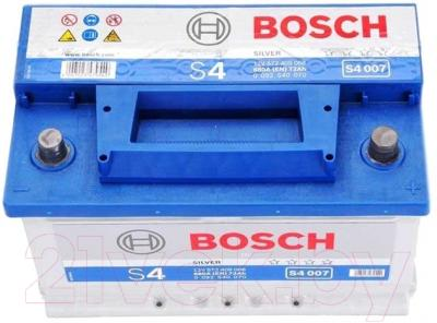 Автомобильный аккумулятор Bosch S4 007 572 409 068 / 0092S40070 (72 А/ч)