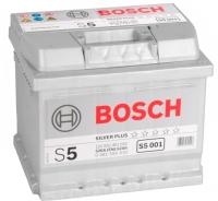 Автомобильный аккумулятор Bosch S5 Silver Plus 52 R (52 А/ч) -