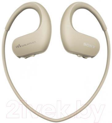 MP3-плеер Sony NW-WS413C (4Gb, слоновая кость)