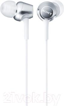 Наушники-гарнитура Sony MDR-EX250APW