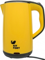 Электрочайник Kitfort KT-607-3 (желтый) -