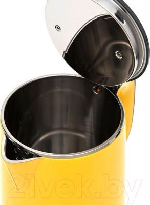 Электрочайник Kitfort KT-607-3 (желтый)