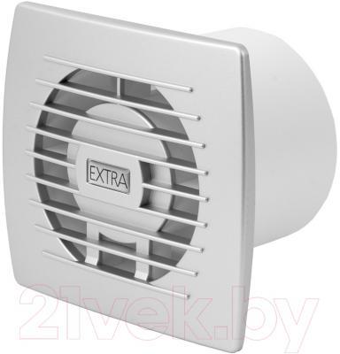 Вентилятор вытяжной Europlast Extra E100TS (серебристый)