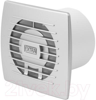 Вентилятор вытяжной Europlast Extra E100HTS (серебристый)