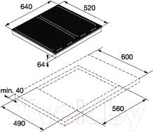 Индукционная варочная панель Asko HI1655G