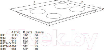 Индукционная варочная панель Asko HI1994G