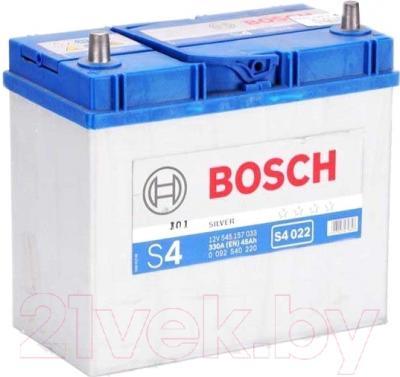 Автомобильный аккумулятор Bosch S4 022 545 157 033 JIS (45 А/ч)