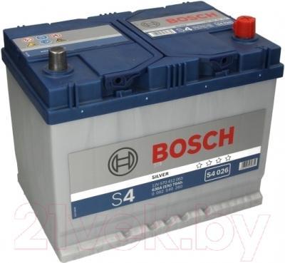 Автомобильный аккумулятор Bosch S4 026 570 412 063 JIS / 0092S40260 (70 А/ч)