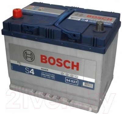 Автомобильный аккумулятор Bosch S4 027 570 413 063 JIS (70 А/ч)
