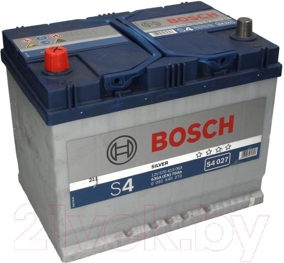 Автомобильный аккумулятор Bosch