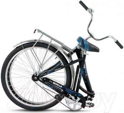 Велосипед Forward Sevilla 1.0 2016 (черный матовый)