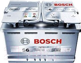 Автомобильный аккумулятор Bosch S6 011 580 901 080 (80 А/ч)