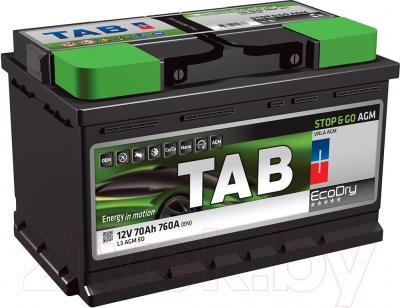 Автомобильный аккумулятор TAB Stop&Go AGM 213070 (70 А/ч)