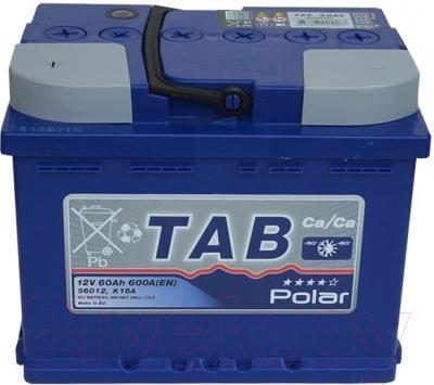 Автомобильный аккумулятор TAB Polar Blue 121060 (60 А/ч)
