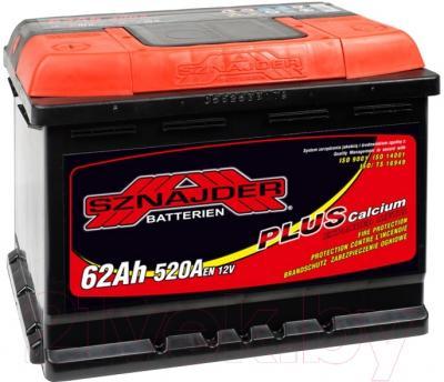 Автомобильный аккумулятор Sznajder Plus 562 65 (62 А/ч)